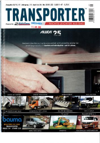 20190412 – Bericht Transporter Ausgabe 05.19